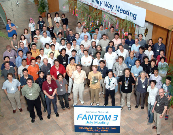 A picture of the FANTOM3 meeting